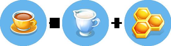 Чай с медом и молоком