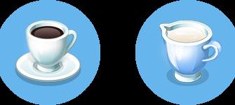 Эспрессо макиато: Рецепт в игре Моя кофейня